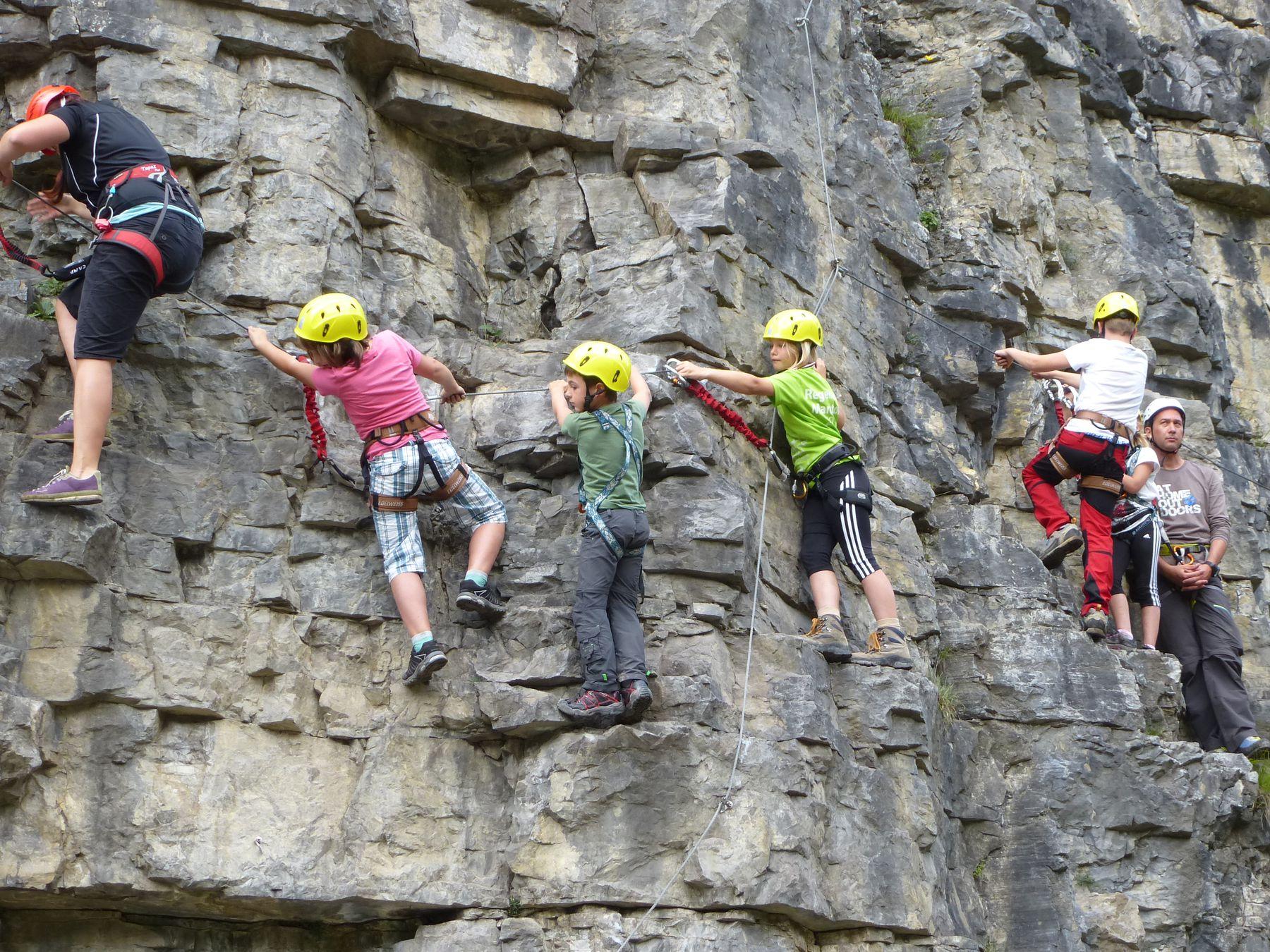 Klettersteig Coburger Hütte : Bergsport total taja klettersteig