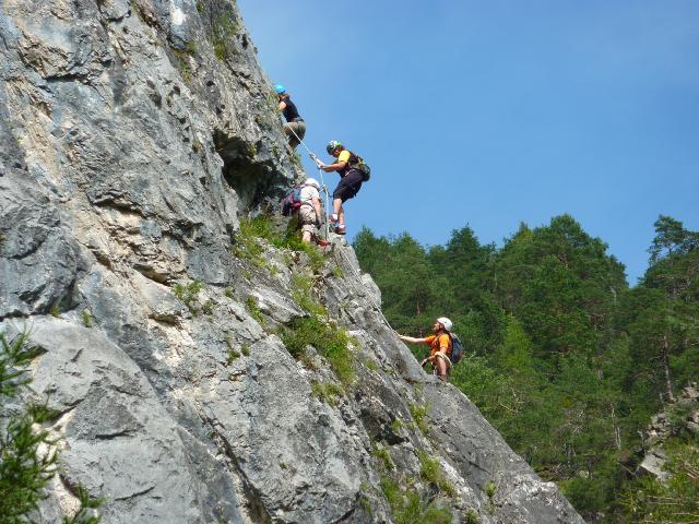 Klettersteig Zams : ▷ wandern wanderung zur memminger hütte von zams bergwelten